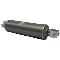 Velvac - 100123 - 2-1/2 Air Cylinder Bore Dia. with 6 Stroke Aluminum , Clevis Mounted Air Cylinder
