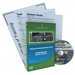 Convergence Training - 479 - Hazard Comm 2012 - GHS Aligned, DVD