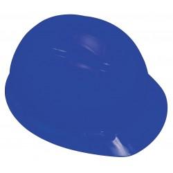 3M - H-703R-UV - Front Brim Hard Hat with Uvicator Sensor, 4 pt. Ratchet Suspension, Blue, Hat Size: 6-5/8 to 7-3/4