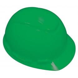 3M - H-704R-UV - Front Brim Hard Hat with Uvicator Sensor, 4 pt. Ratchet Suspension, Green, Hat Size: 6-5/8 to 7-3/4