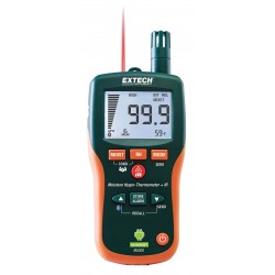 Extech Instruments - MO300 - Extech MO300 Inspectorpro Pin/Pinless Moisture Psychrometer, android