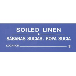 R&B Wire Products - 602SLW - Instruction, Ident Lbl, Eng, Soil Linen, PK5