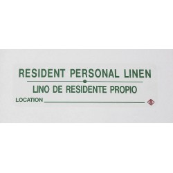 R&B Wire Products - 602RL - Instruction, Ident Lbl, Res Pers Linen, PK5