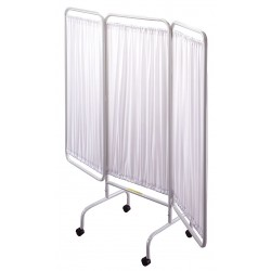 R&B Wire Products - PSS-3C - 3 Panel, 81 x 69 Privacy Screen, White