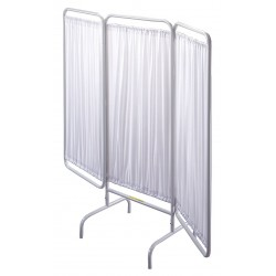 R&B Wire Products - PSS-3 - 3 Panel, 81 x 67 Privacy Screen, White