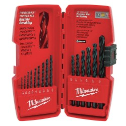 Milwaukee Electric Tool - 48-89-2803 - 15-Piece Thundolt Black Oxide Drill Bits Set
