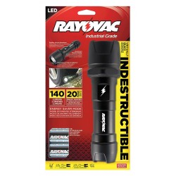Rayovac - RAY-DIY2D-B - Indestructible 2d Flashlight