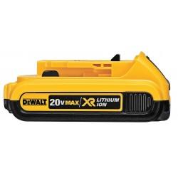 Dewalt - DCB203 - Dewalt 20V MAX Compact XR Lithium Ion Battery Pack - 2000 mAh - Lithium Ion (Li-Ion) - 20 V DC
