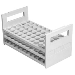 Bel-Art - 188640001 - Rack, Pp, Water Bath, 13-16mm, 50places