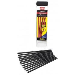 Markal - 96243 - Trades-Marker Refill Pack, Black, PK12