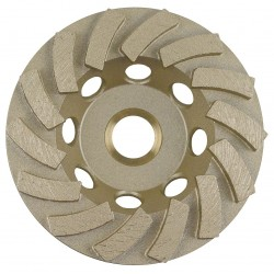 Diamond Vantage - 04HDDGDX1 - 4 Cup Segment Cup Grinding Wheel, 5/8-11 Arbor, 15, 000 Max. RPM, Segments: 14