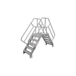 Cotterman - 4SCS24A7C1P3 - Crossover Bridge, Steel, 32 Platform Height, 24 Span, Number of Steps 4