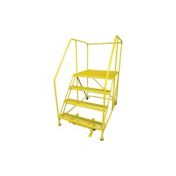 Cotterman - 4WP3648A3B8AC2P6 - Work Platform, Steel, Single Access Platform Style, 40 Platform Height