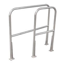 Cotterman - AR2 C50 P6 - Safety Railing, 2ft., Aluminum