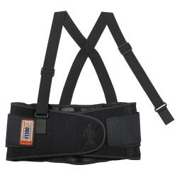 Ergodyne - 1100SF - Spandex Back Support S, 8 Width Fits Waist Size 25 to 30, Black