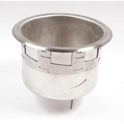 APW Wyott - 56588 - Well Pot 7 qt. with Drain