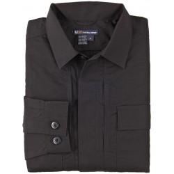 5.11 Tactical - 72002 - Ripstop TDU Shirt, XS, Black