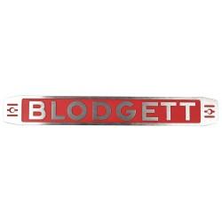 Blodgett - 11255 - Nameplate, Blodgett Assembly