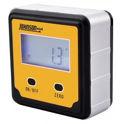Johnson Level - 1886-0000 - Digital Angle Finder, Magnetic, 2 Button