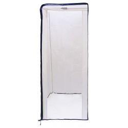 Aleco - 477434 - HD Pan Rack Cvr, Nylon PVC, Off White
