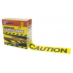 Other - 14090 - Barricade Tape, Caution, Yellow, 1000 ft