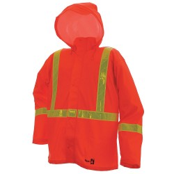 Viking - 6050FRJ-XXL - Rain Jacket, FR, Orange, 2XL