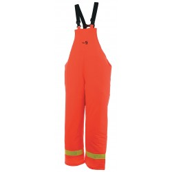 Viking - 6050FRP-S - Rain Bib Overall, FR, Orange, S