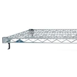 Metro (InterMetro) / Emerson - A1424NC - 24 x 14 Steel Wire Shelf with 800 lb. Capacity, Silver