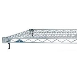 Metro (InterMetro) / Emerson - A1472NC - 72 x 14 Steel Wire Shelf with 600 lb. Capacity, Silver