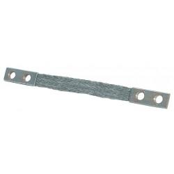 Burndy - BD18N - Burndy BD18N Ground Braid, Copper, Flexible, 18 Length