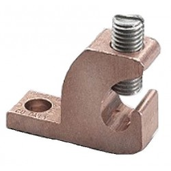 Burndy - CL501TN - Mechanical Connector, Copper, Max. Conductor Size: 4 AWG Solid/Stranded