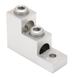 Burndy - K11A30U - Mechanical Connector, Tin-Plated Aluminum, Max. Conductor Size: 300 kcmil Stranded, 4/0 AWG Solid