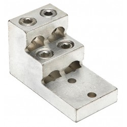 Burndy - K22A36U2 - Mechanical Connector, Tin-Plated Aluminum, Max. Conductor Size: 600 kcmil Stranded