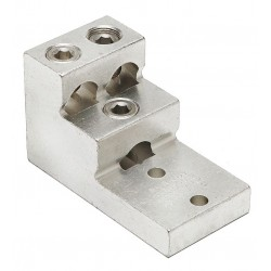 Burndy - K21A36U2 - Mechanical Connector, Tin-Plated Aluminum, Max. Conductor Size: 600 kcmil Stranded