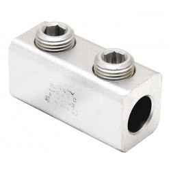 Burndy - AMS-4/0 - Mechanical Connector, Tin-Plated Aluminum, Max. Conductor Size: 4/0 AWG Solid and Stranded