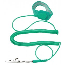 Eclipse Enterprises - 900-012 - ESD Wrist Strap, Adjustable, 6 ft L, Green