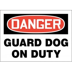 Accuform Signs - 219100-7X10S - Trespassing and Property, Danger, Vinyl, 7 x 10, Adhesive Surface, Not Retroreflective