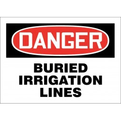 Accuform Signs - 219113-10X14A - Facility, Danger, Aluminum, 10 x 14, With Mounting Holes, Not Retroreflective