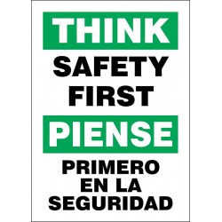 Accuform Signs - 219152-14X10S - Safety Incentive and Motivational, No Header, Vinyl, 14 x 10, Adhesive Surface