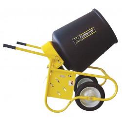 Kushlan Products - KPRO - Wheelbarrow Mixer, 3.5 cu ft, 115V, 1/2HP