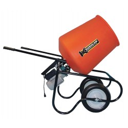 Kushlan Products - 350DD - Wheelbarrow Mixer, 3.5 cu ft, 115V, 3/4HP