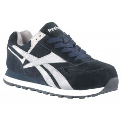 Reebok - RB1975-9W - Athletic Shoes, Steel Toe, Navy, 9W, PR