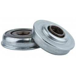 Tycon Power Systems - 418226123 - Zinc Plated Steel Hex Conveyor Bearing with 1.712 O.D., 7/16 Bore Dia., and 300 lb. Dynamic Load C