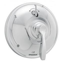 Speakman - SM-10400-P - Brass, Plastic, Zinc Wall Shower Valve, 2.5 GPM