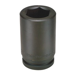 Wright Tool - 84968 - Impact Socket, 1-1/2 In Dr, 4-1/4 In, 6 pt