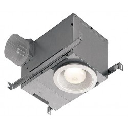 Broan-NuTone - 744LED - 12-3/4 x 8-1/4 x 6-7/8 Recessed Fan, 70 CFM, 0.55 Amps