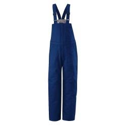 VF Corporation - BLC8RB LN L - Royal Blue Bib Overalls, 88% Cotton / 12% Nylon, Fits Waist Size: 46-1/2, 33-1/2 Inseam, 43.3 cal.