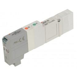 SMC - SV1400-5FU - 24VDC 5-Way, 3-Position Solenoid Air Control Valve