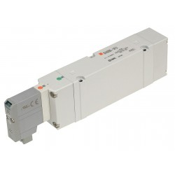 SMC - SV4100-5FU - 24VDC 5-Way, 2-Position Solenoid Air Control Valve
