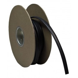 TE Connectivity - CPGI-RNF-100-3/8-BK-200 - 200 ft. Thin Wall Heat Shrink Tubing, Flexible Polyolefin, Shrink Ratio 2:1